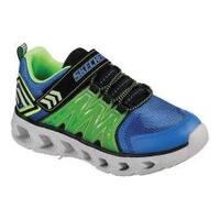 Boys' Skechers S Lights Hypno-Flash 2.0 Sneaker Blue/Lime