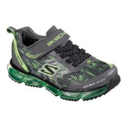 Boys' Skechers Skech-Air Mega Azide Sneaker Black/Lime