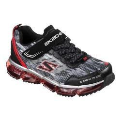 Boys' Skechers Skech-Air Mega Azide Sneaker Black/Red