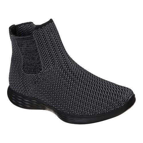 a301b704f995 Shop Women s Skechers YOU Define Strength Sneaker Black Black - Free  Shipping Today - Overstock - 19474338