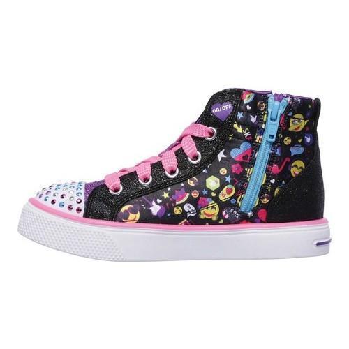 Skechers TWINKLE BREEZE 2.0-EMOJI MAJIC Girls 10879L//BMLT Black//Multi Shoes