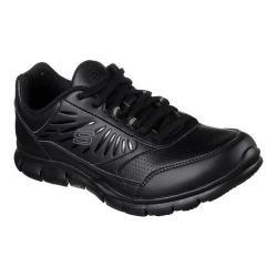 Women's Skechers Work Nabroc Slip Resistant Sneaker Black