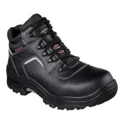 Men's Skechers Work Relaxed Fit Burgin Sosder Comp Toe Boot Black (More options available)