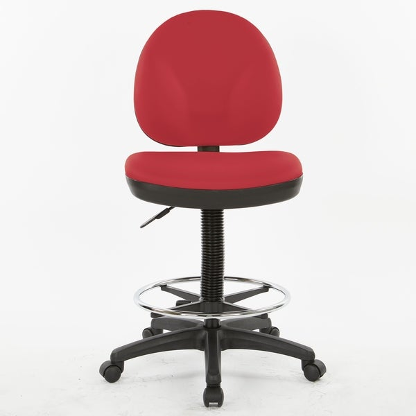 Upholstered Drafting Chair