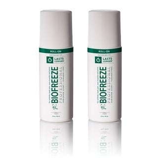 BioFreeze 3-ounce Roll-On Cold Cooling Pain Reliever (Pack of 2)
