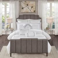 Madison Park Signature Hotel 101 Grey 400 Thread Count Comforter Set