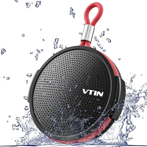 VicTsing Portable Bluetooth 4.2 Wireless Shower Speaker with Waterproof IPX5