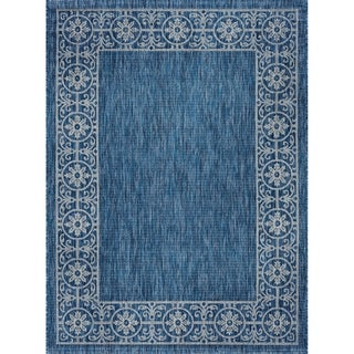 Alise Rugs Colonnade Traditional Border Area Rug