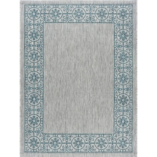 Alise Rugs Colonnade Traditional Border Area Rug - 3'11 x 5'11