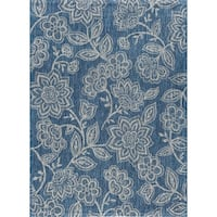 Alise Rugs Colonnade Transitional Floral Area Rug - 3'11 x 5'11