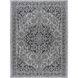 Alise Rugs Colonnade Traditional Medallion Area Rug - 3'11 x 5'11