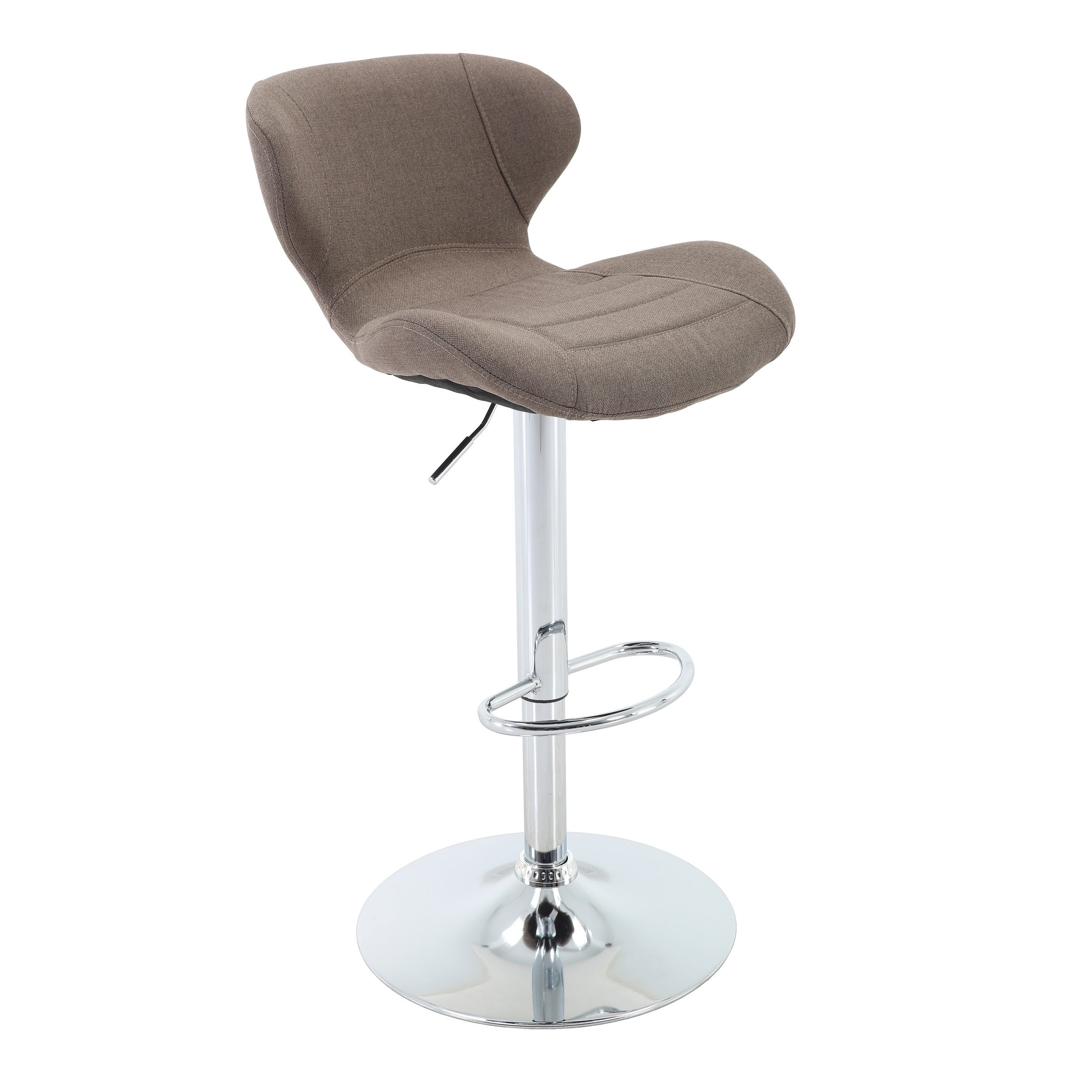 Excellent Adjustable Height Upholstered Barstool With Footrest Gamerscity Chair Design For Home Gamerscityorg
