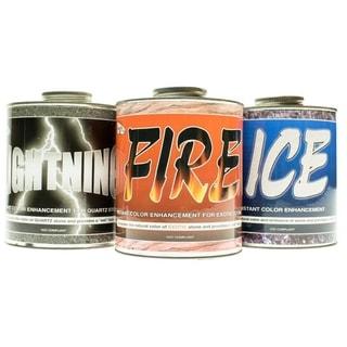 SUPERIOR Fire, Ice, & Lightning Instant Color Stone Enhancement-1 Quart