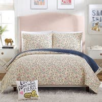 Hello Lucky Provencal Poppies Quilt Set By Makers Collective