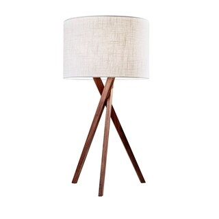 Adesso Brooklyn Walnut Table Lamp
