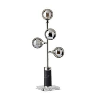 Adesso Calder Brushed Steel LED Table Lamp