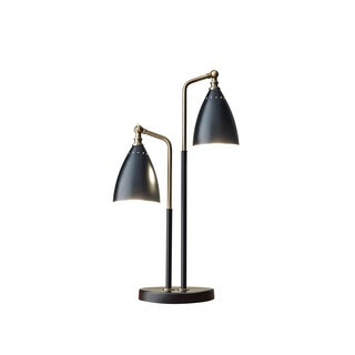 Adesso Antique Brass Chelsea Table Lamp