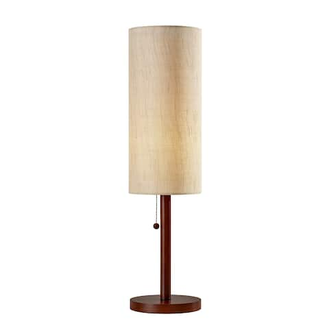 Adesso Hamptons 31-inch Walnut Table Lamp