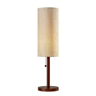 Adesso Hamptons Walnut Table Lamp
