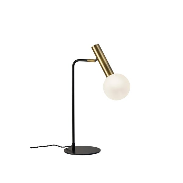 Adesso Sinclair Black and Antique Brass LED Desk Lamp - Shop Adesso Sinclair Black And Antique Brass LED Desk Lamp - On Sale