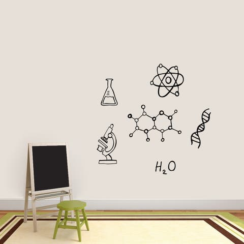 Chemistry Set Wall Decals - MEDIUM
