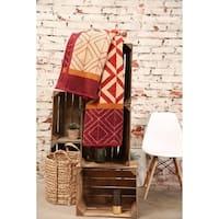 IBENA Oversized Throw Blanket Kashan