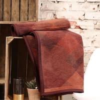 IBENA Argyle Design Throw Blanket Amol