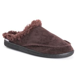 MUK LUKS® Men's Faux Suede Clog Slippers
