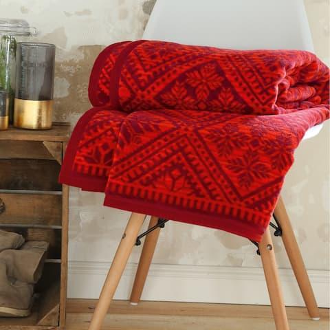 IBENA Scandinavian Style Throw Blanket Marcala