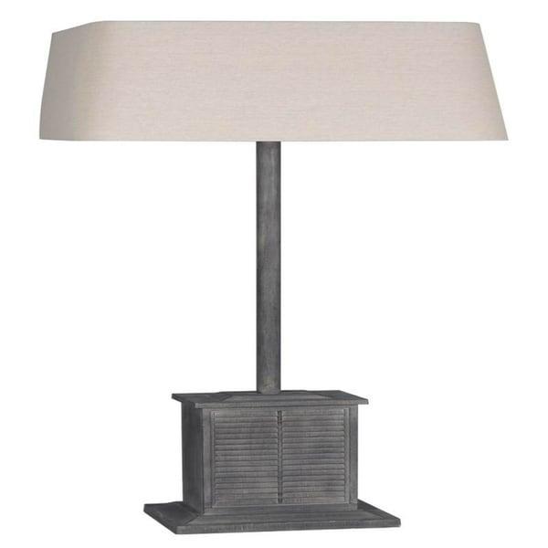 more photos fef87 b8f02 Lamps Per Se 66.5- inch Grey Shutter Indoor/Outdoor Floor Lamp