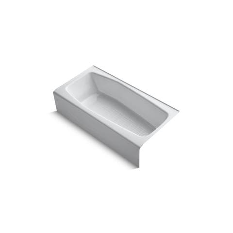"Kohler K-716 Villager(TM) 60"" x 30"" alcove bath with integral apron and right-hand drain"