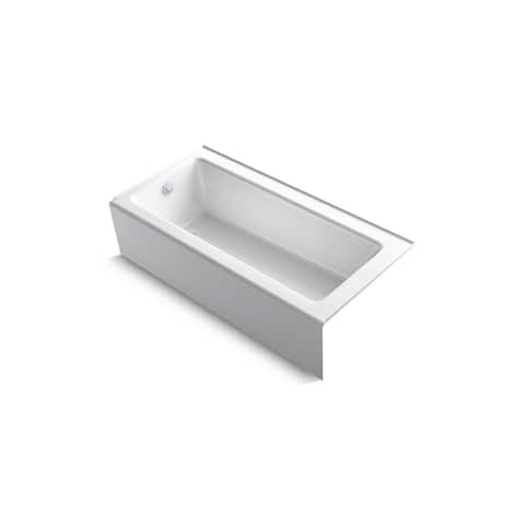 "Kohler K-847 Bellwether 66"" X 32"" Alcove Bath With Integral Apron And Left-Hand Drain"