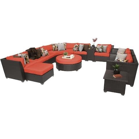 Barbados 12 Piece Outdoor Wicker Patio Furniture Set 12a