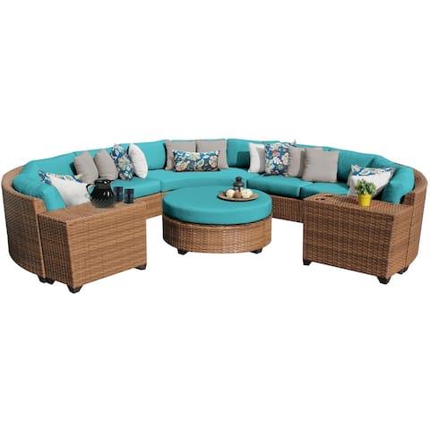 Laguna 8 Piece Outdoor Wicker Patio Furniture Set 08b