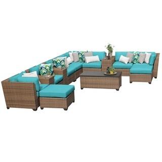 Laguna 14 Piece Outdoor Wicker Patio Furniture Set 14a