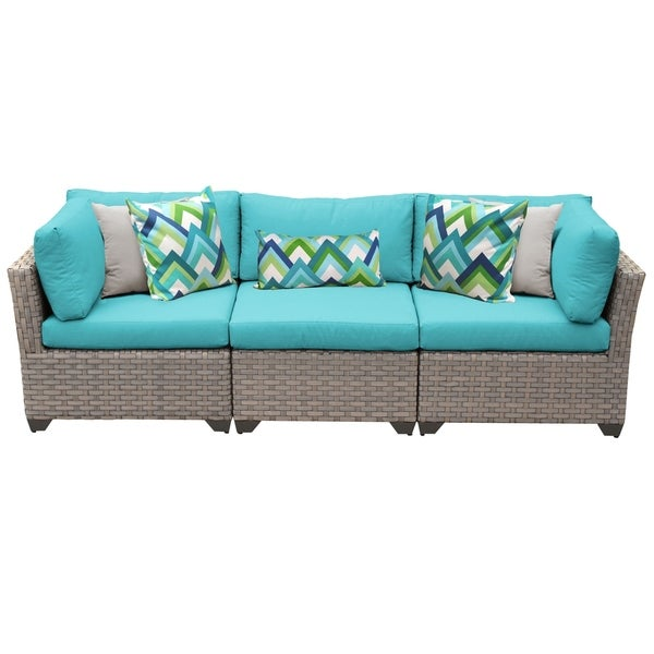 Shop Monterey 3 Piece Outdoor Wicker Patio Furniture Set 03b Free