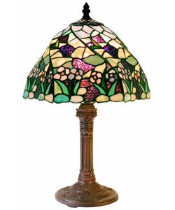 Tiffany-style Lake Table Lamp