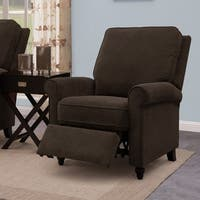 ProLounger Brown Chenille Push Back Recliner Chair