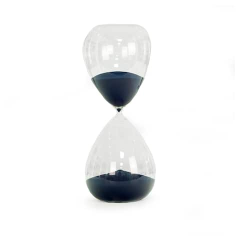 Navy Blue Sand 240-Minute Hourglass Timer