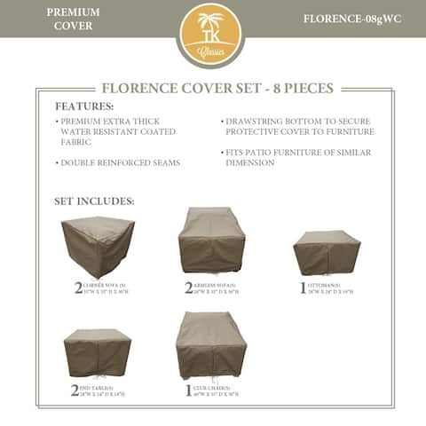 FLORENCE-08g Protective Cover Set