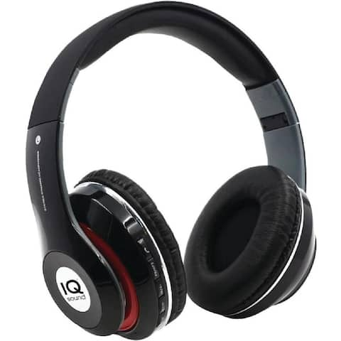 IQ Sound Bluetooth Wireless Headphones and Mic