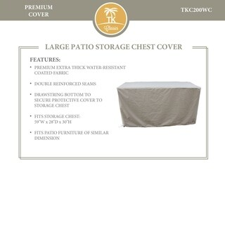 Storage Chest Protective Cover