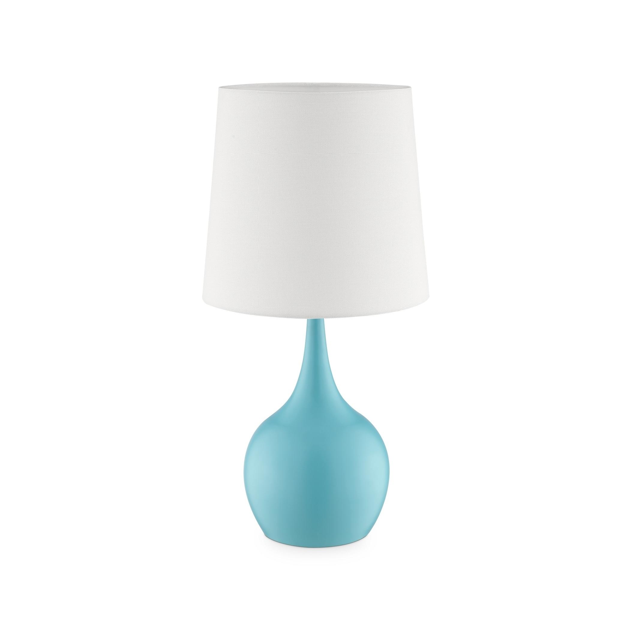 Ok Lighting Niyor Cloud Azul Table Touch Lamp
