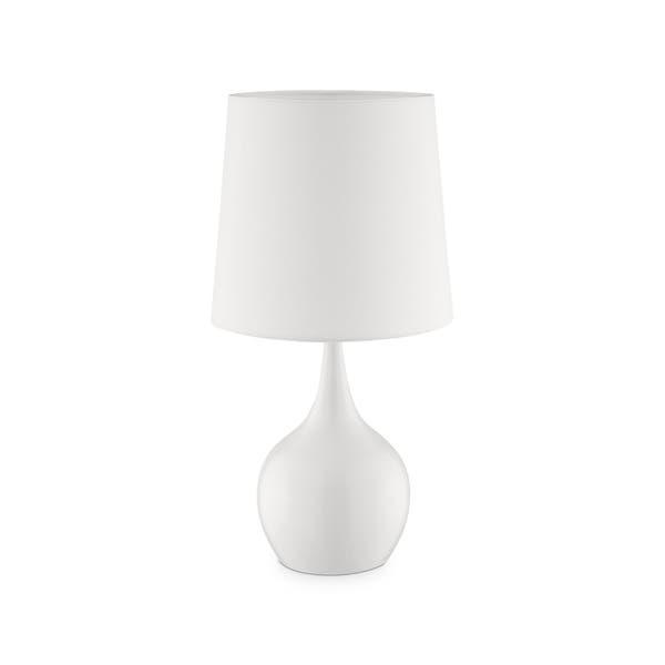 Ok Lighting Niyor Cloud White Table Touch Lamp