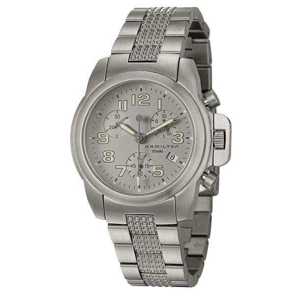 Hamilton Khaki Action Men's Chronograph Watch