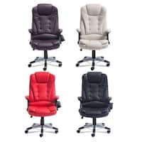 Home Office Computer 6 Point Wireless Game Massage Chair