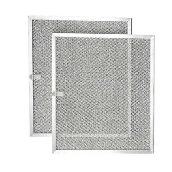 Shop 2pcs Aluminum Mesh Range Hood Filter Replacement ...