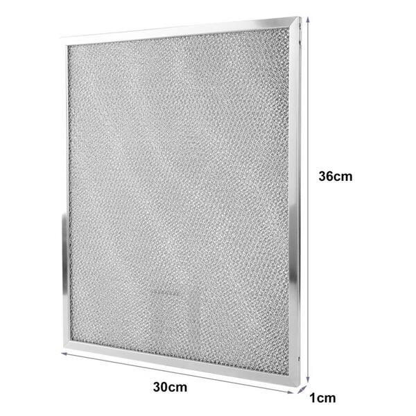 Shop 6pcs Rectangle Aluminum Mesh Range Hood Filter Replace ...