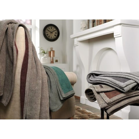 IBENA Classic Chic Aberdeen Throw Blanket