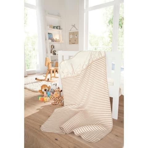 IBENA Pure Cotton 'Safari' Baby Blanket